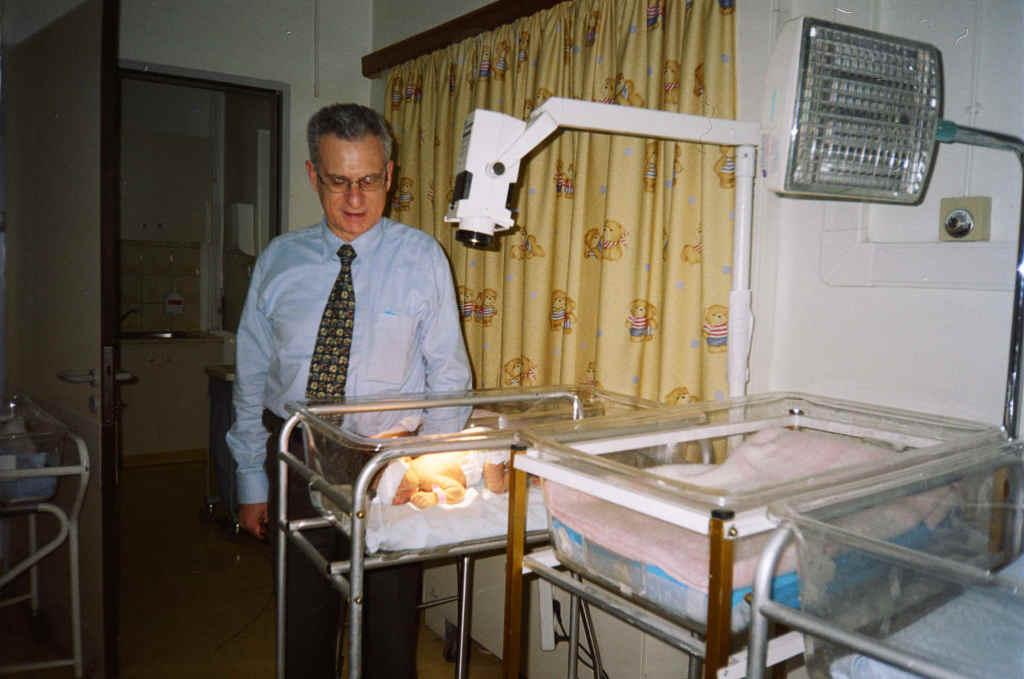 Ο Διευθυντής Χρήστος Κωστάλας του Νεογνολογικού τμήματος του Νοσοκομείου