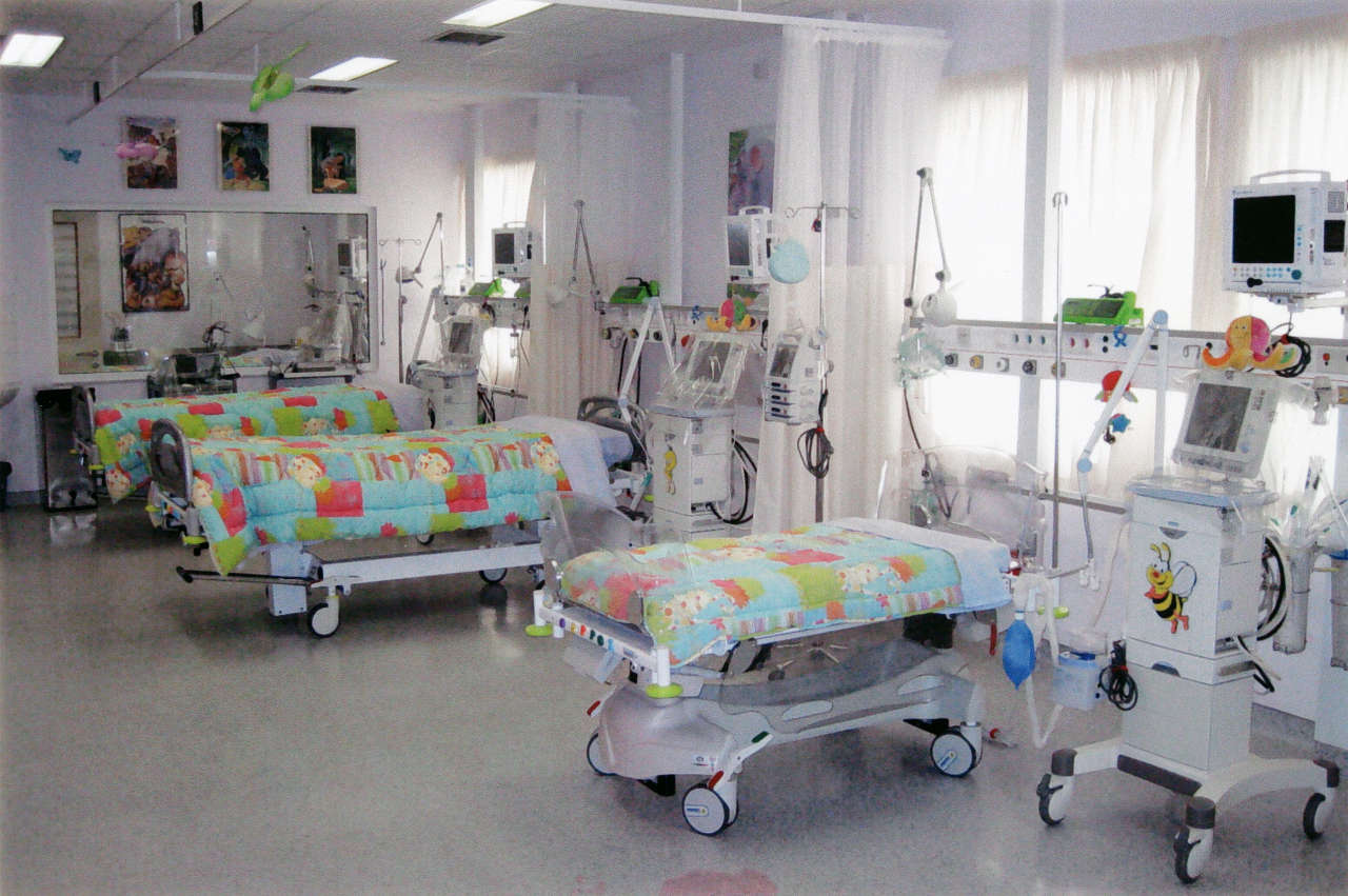 The Paediatric Intensive Care Unit at the University Hospital of Patras