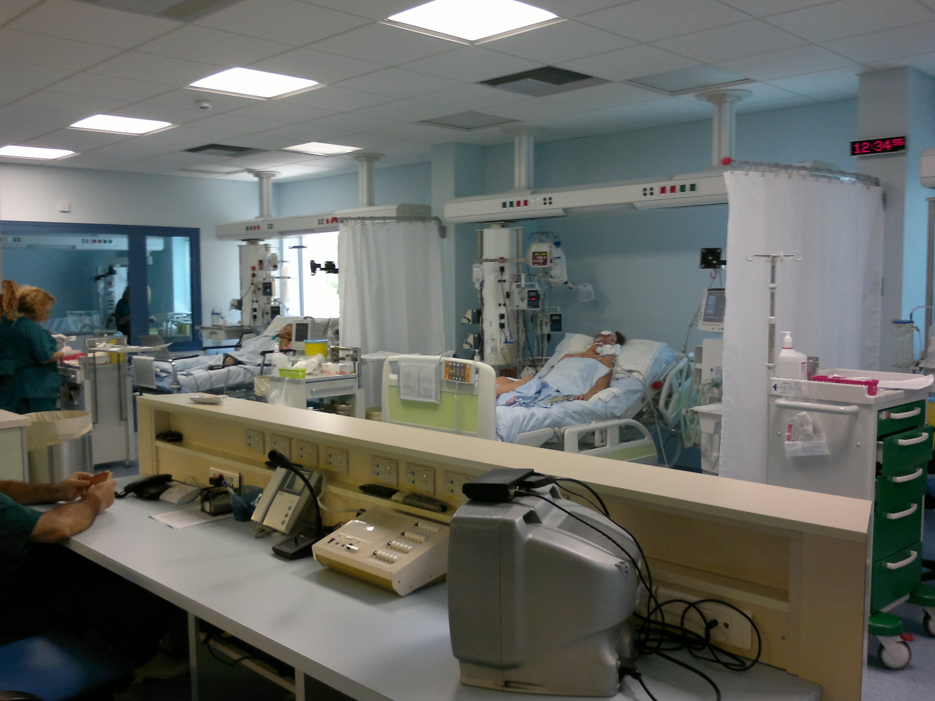 The Paediatric Intensive Care Unit at the University Hospital of Heraklion